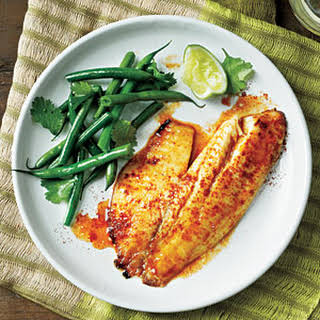 Sweet and Spicy Citrus Tilapia.