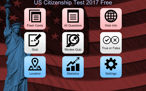 Free US Citizenship Test 2017- screenshot thumbnail