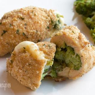 Broccoli and Cheese Stuffed Chicken.
