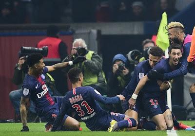 Le Paris Saint Germain remet les points sur les i contre l'Olympique Marseille
