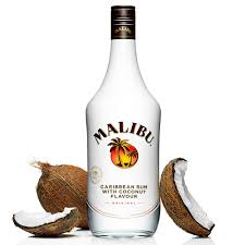 Logo for Malibu Coconut liqueur