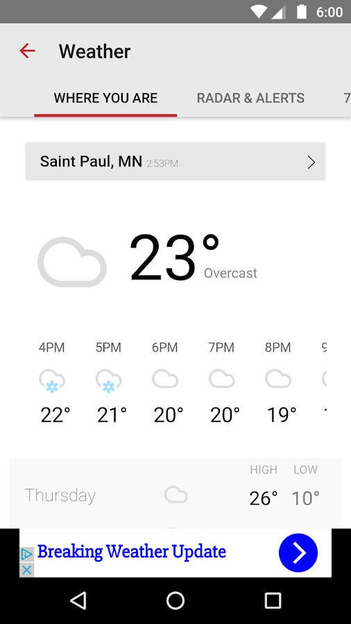 KSTP Mpls-St.Paul News,Weather- screenshot