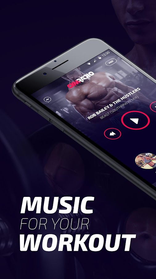 GYM Radio - workout music app- screenshot
