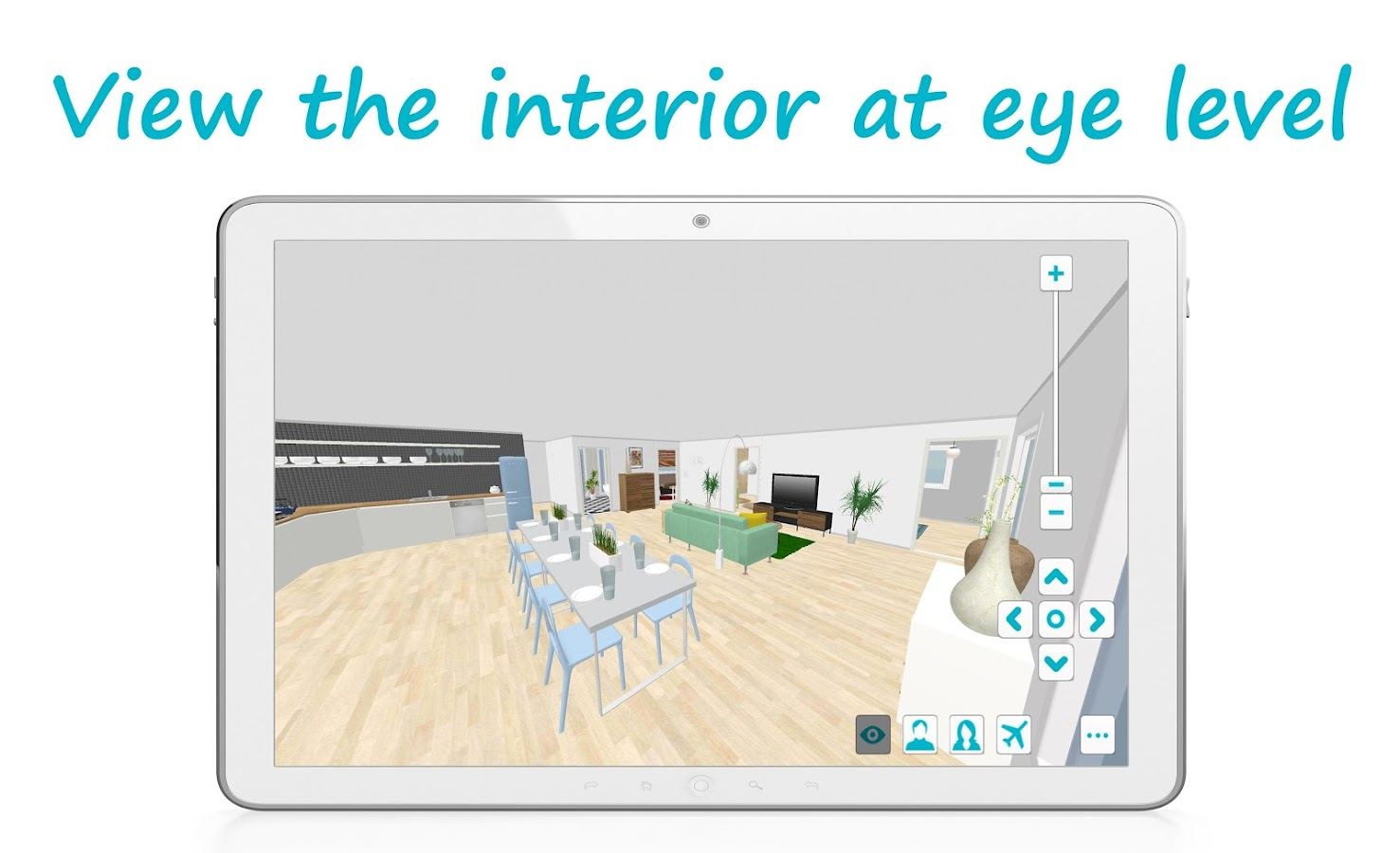 Roomsketcher live 3d android apps on google play for Room design 3d apk