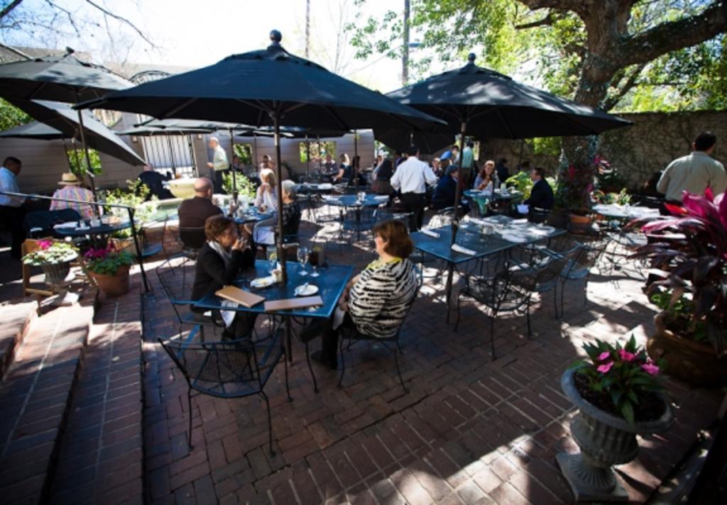 Backstreet Café Patio