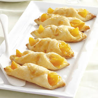 Apricot Puff Pastries.