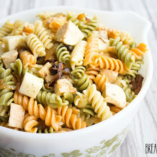 Caramelized Onion & Chicken Pasta Salad