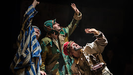 Bye, Bye , confetti, teatro familiar de La Baldufa.