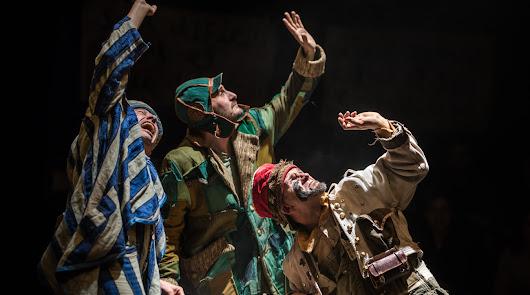 """Humor y amor con """"Bye, Bye, confetti"""", teatro familiar de La Baldufa"""