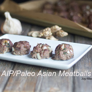 Asian Meatballs (AIP,PALEO, WHOLE30)
