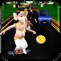 Ganesh Skating 3D icon