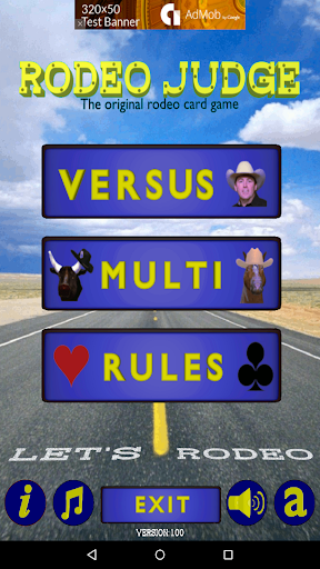 Rodeo Judge Card Game