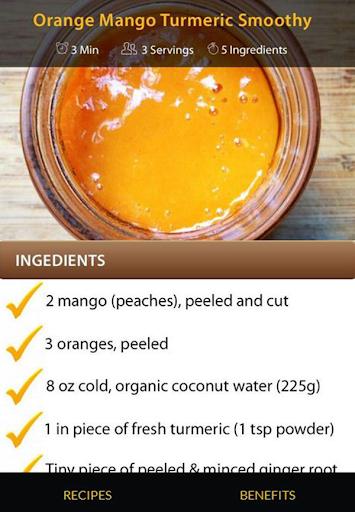 Turmeric Drink Recipes screenshot 12