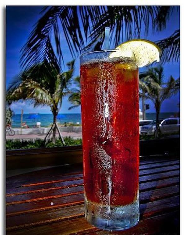Long Island Raspberry Iced Tea Recipe