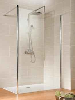 Paroi de douche fixe à l'italienne Walk In, 25 à 140 cm