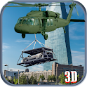 Car Transporter Helicopter Sim icon