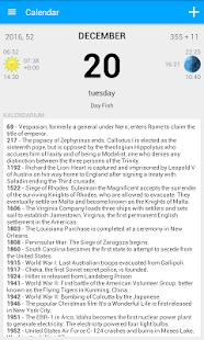 Calendar - náhled