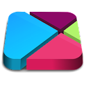 Nougat 3D - icon pack Theme HD icon