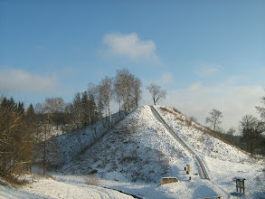 Photo: Merkinės piliakalnis.