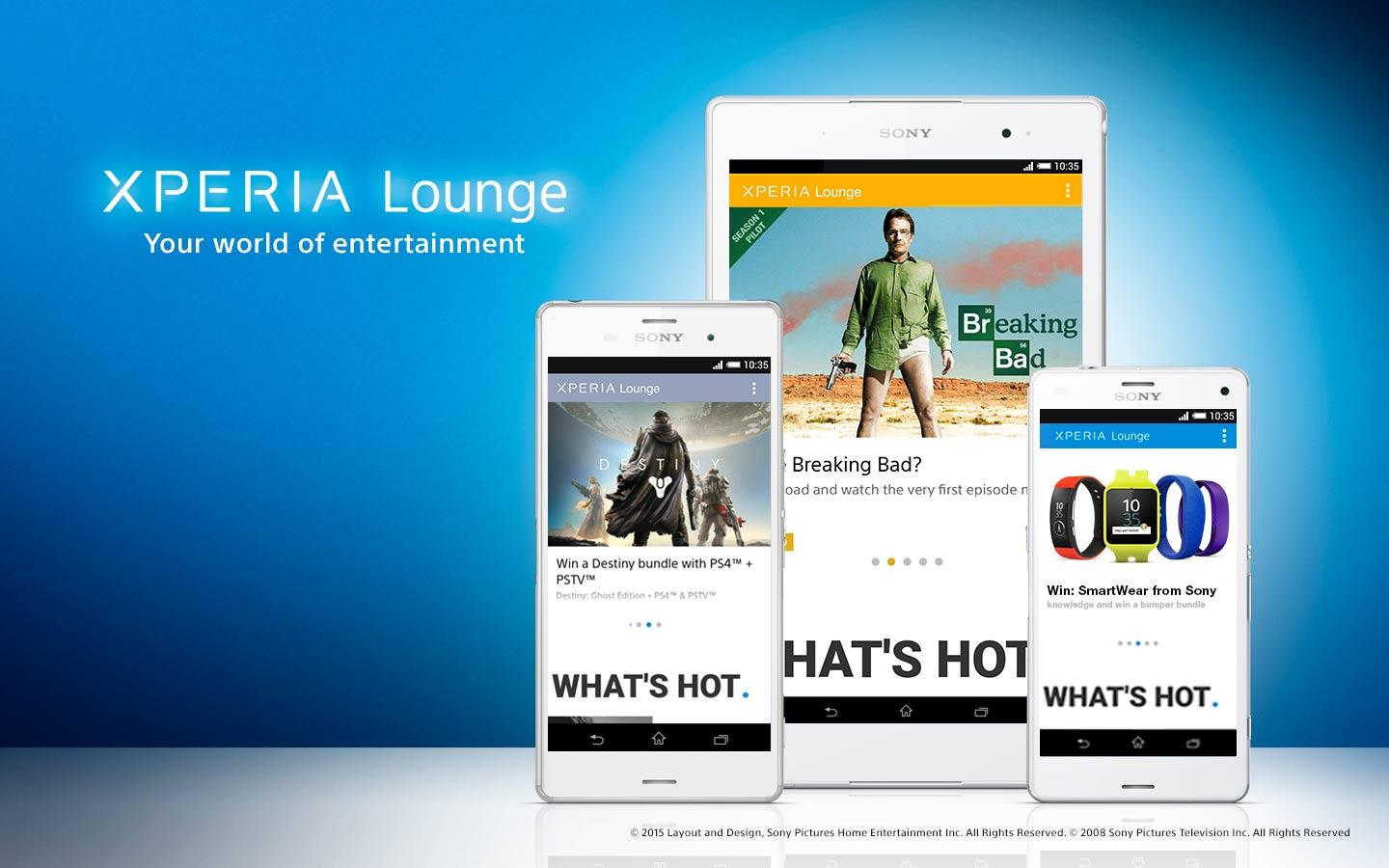 Xperia Lounge- screenshot