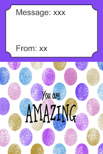 You Are Amazing Card - náhled