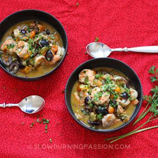 Shrimp and Cherry Tomato Puttanesca