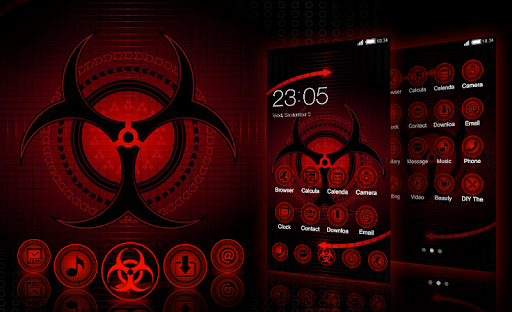 Sharingan Theme: Cool launcher Rasengan Wallpaper 4.0.7 screenshots 5