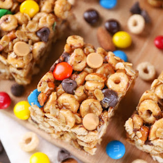 Trail Mix Cereal Bars.