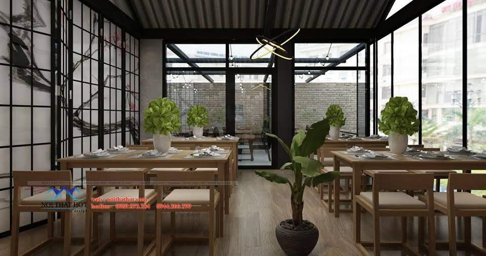 thiết kế nhà hàng dẹp, giá hợp lý 5