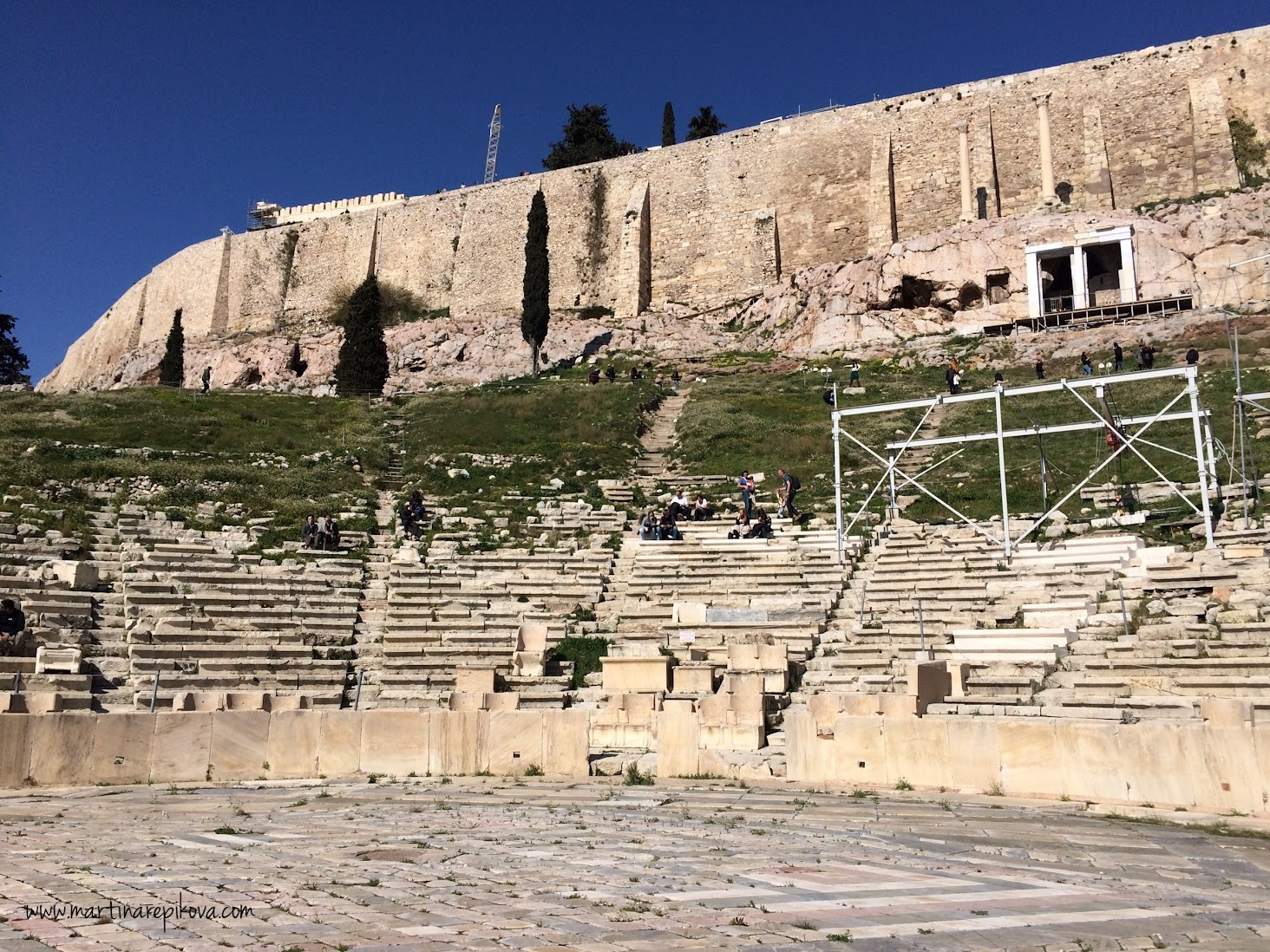 Theatre of Dionysos, Athens, Greece