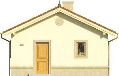 Domek 4 - Elewacja przednia