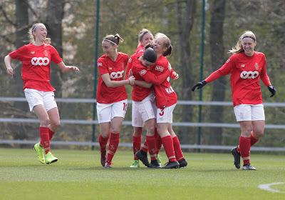 Standard houdt de punten thuis tegen Woluwe en blijft op negen punten van Anderlecht