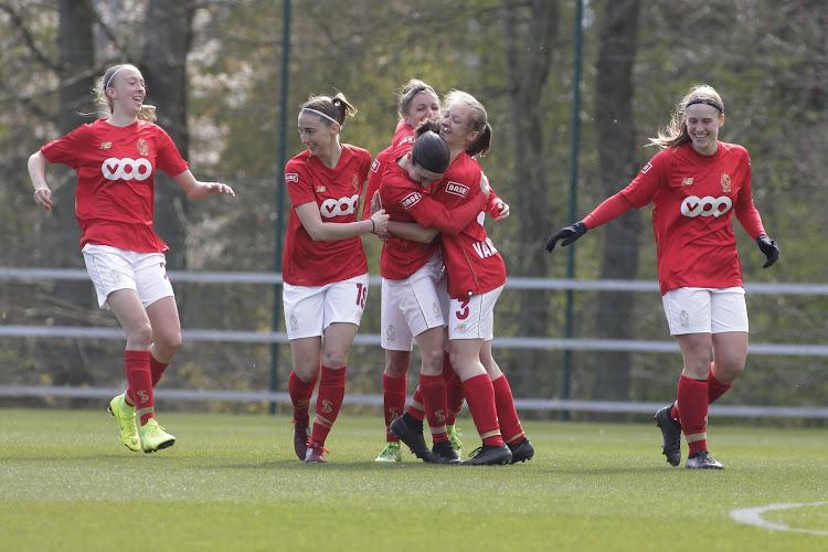 Le Standard Femina bat Bruges et reste dans la roue d'Anderlecht