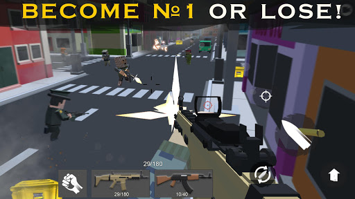 Shooting RULES OF BATTLE: Royale Online Pixel FPS 1.7 screenshots 3