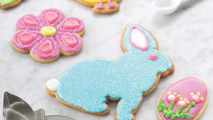 Spiced Springtime Sugar Cookies Recipe