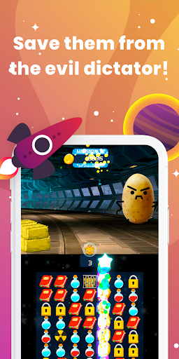 Match 3 Space Safari - Free Match 3 Game screenshot 3