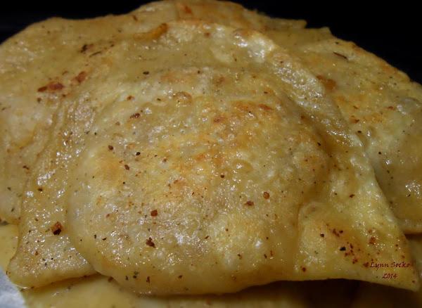 Lynn's Potato, Bacon, Onion, Cheese Pierogies Recipe