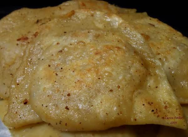 Lynn's Potato, Bacon, Onion, Cheese Pierogies