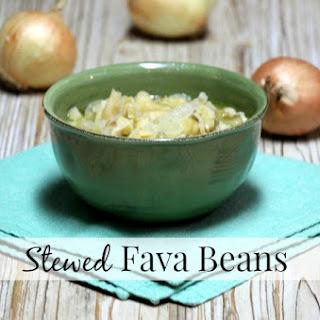 Stewed Fava Beans