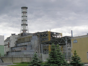 Photo: Chernobyl reactor 4