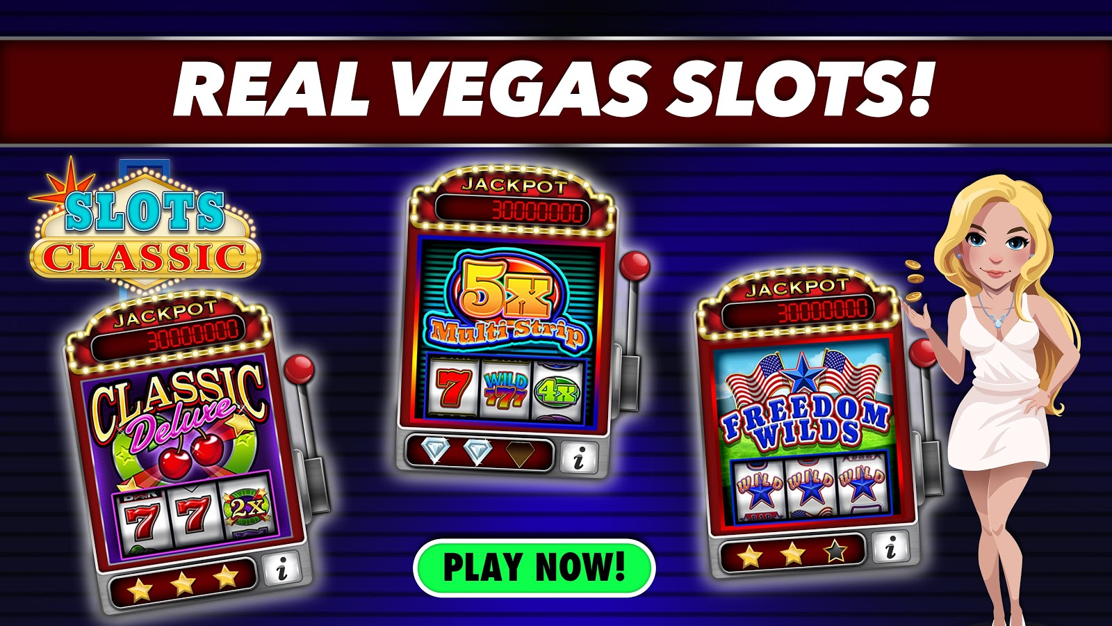 Money Star Slot Machine - Play for Free & Win for Real