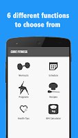Screenshot of Core Fitness: Abs/Core Workout