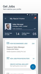 Download Naukri.com Job Search For PC Windows and Mac apk screenshot 5