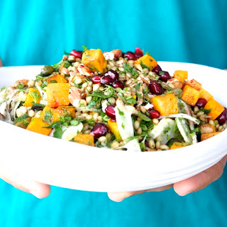 Wheat Berry and Butternut Squash Salad