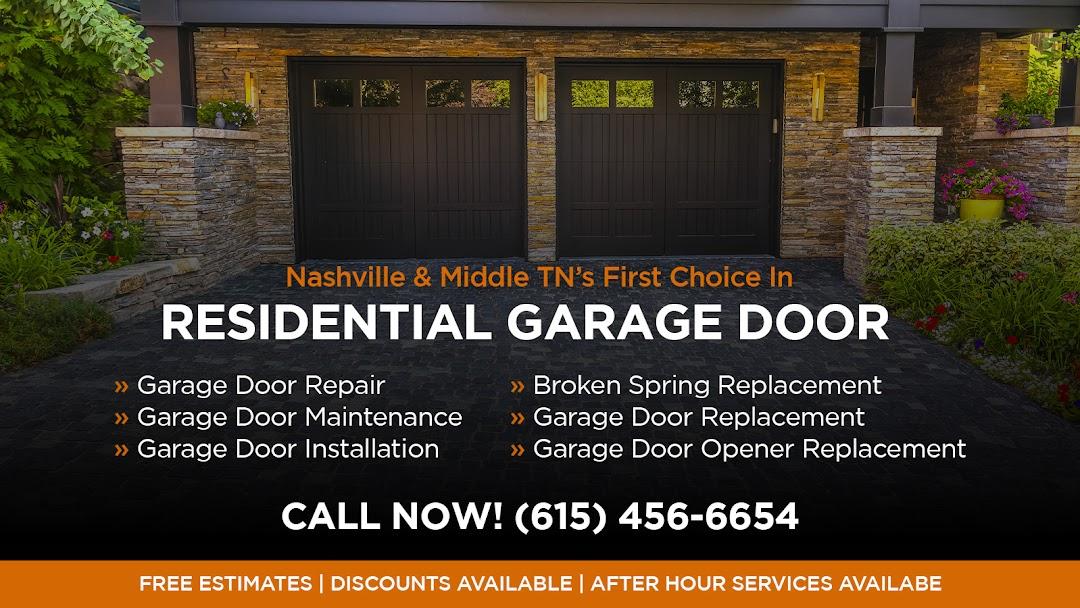 Aarons Garage Doors Door Supplier, Garage Door Repair Companies Nashville Tennessee