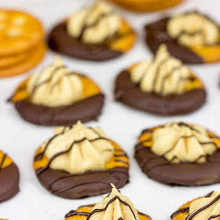 No Bake Chocolate Peanut Butter Pie RITZ Crackers.