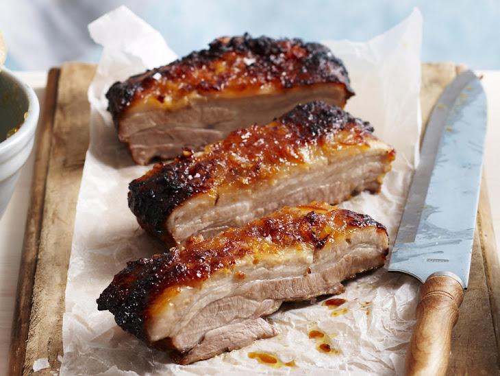 Pork Belly with Orange Marmalade Glaze Recipe | Yummly