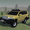 Driving Off Road Cruiser 4x4 Prado Car Simulator icon
