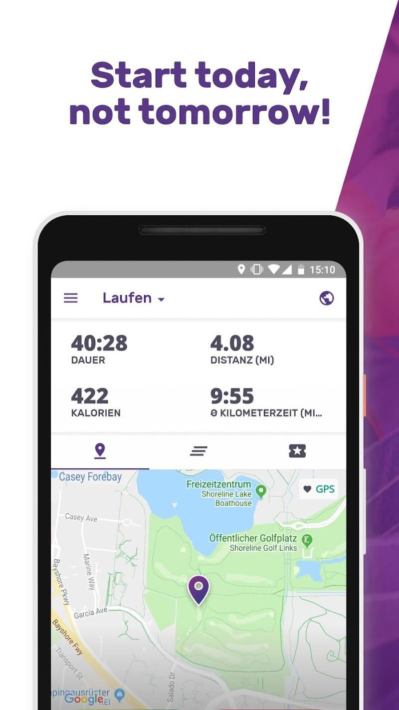 Running Weight Loss Walking Jogging Hiking FITAPP Screenshot 0