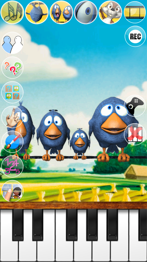 Talking Birds On A Wire - screenshot